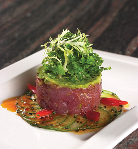 ... tuna tartare tuna tartare tuna tartare with avocado and radish recipes